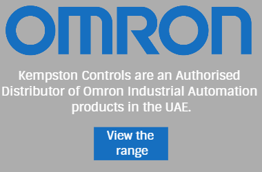 Kempston Controls are an authorised distributor of Omron Industrial Automation products in the UAE