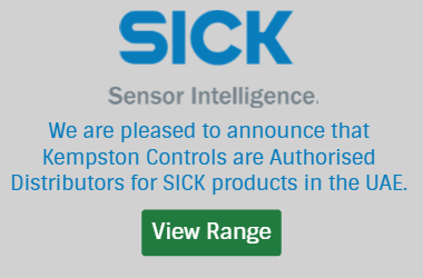 Kempston Controls are an authorised distributor for SICK products in the UAE