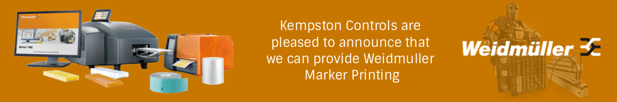 Kempston Controls can now offer Widmuller Marker Printing