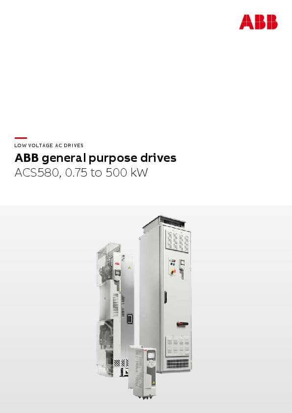 ABB general purpose drives ACS580
