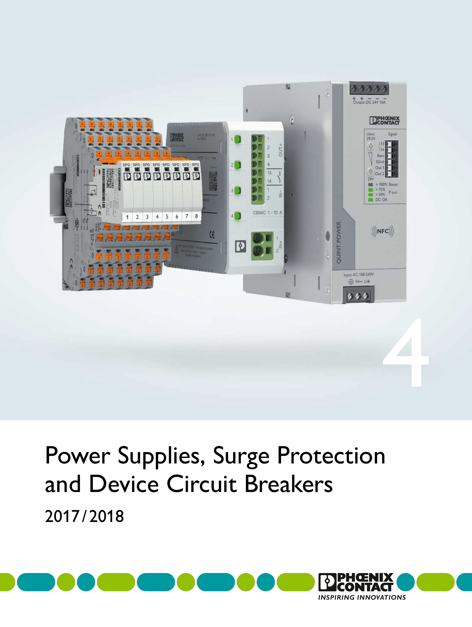 Power Supplies, Surge Protection and Device Circuit Breakers